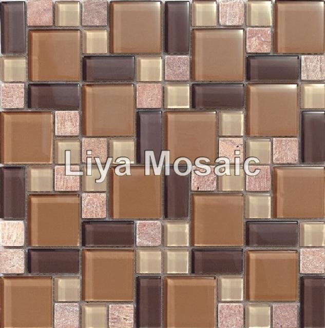 Azulejos de mosaico de cristal stx4804 2 azulejos de - Azulejos de cristal ...