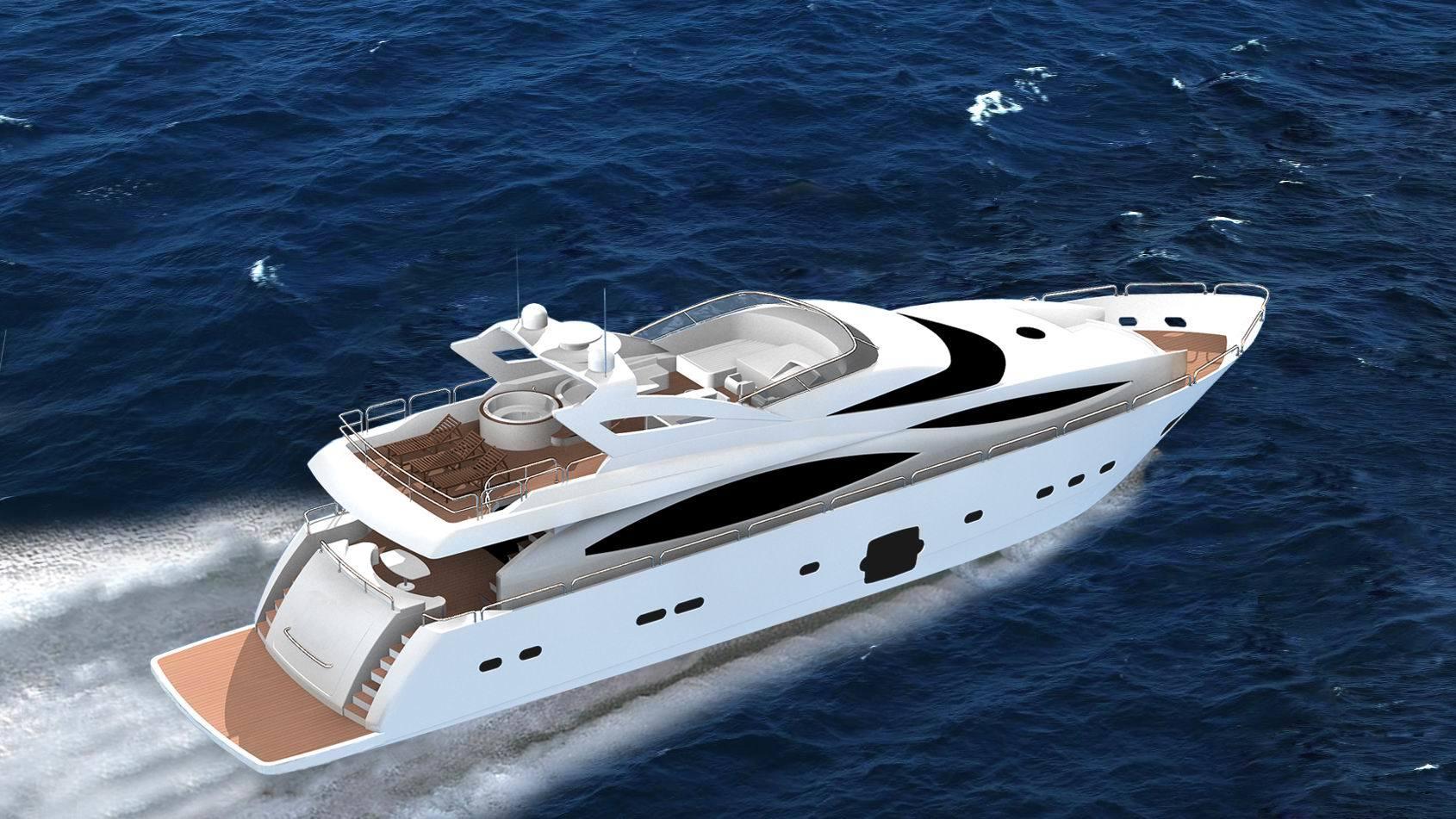 china heysea 101 luxury yacht