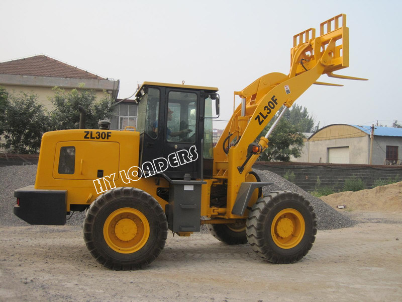 Multi-Function Wheel Loader with Pallet Fork (ZL30F)