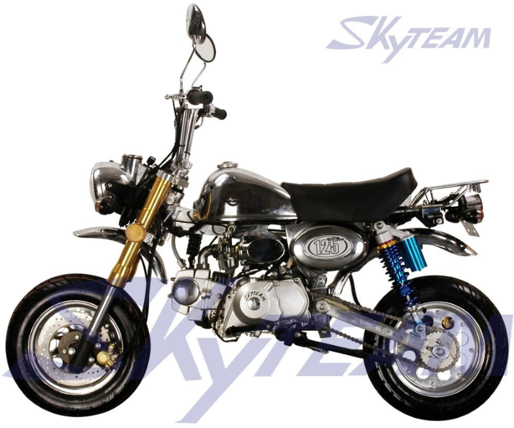 china skyteam monkey bike replica 125cc 4 stroke le mans. Black Bedroom Furniture Sets. Home Design Ideas