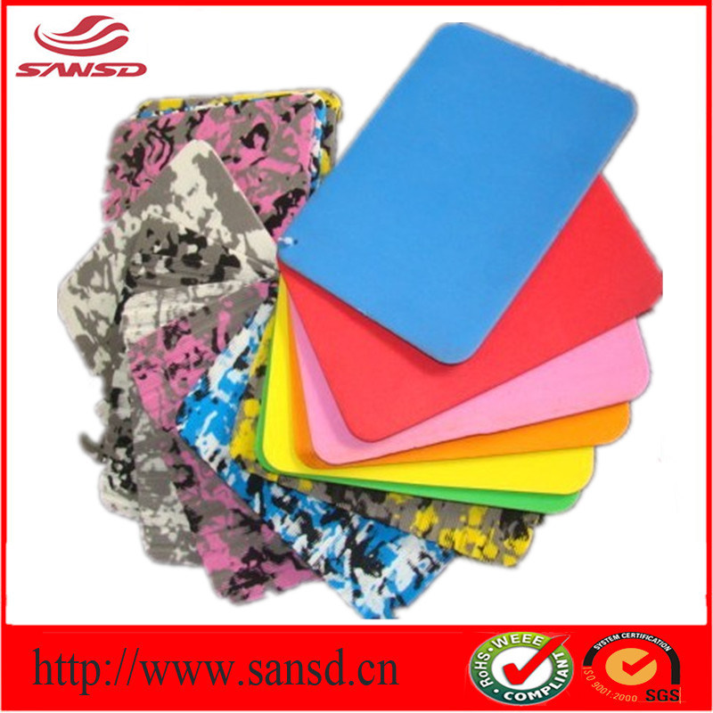 Eco-Friendly Hot Sale Colorful Clsoed Cell PE Foam Sheet Camouflage