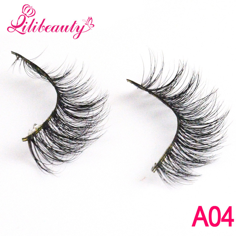 Luxurious Lashes 3D Multi-Layer Handmade Mink Hair False Eyelashes