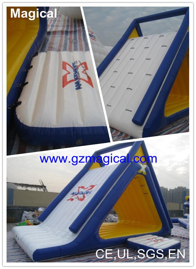 Extreme Inflatable Water Slide Summit Inflatable Slide Freefall Inflatable Water Game Inflatable Aquapark (MIC-487)