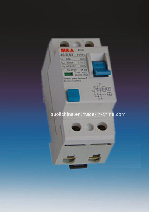 Sll7-100 Series 2p 4p Residual Current Circuit Breaker RCCB