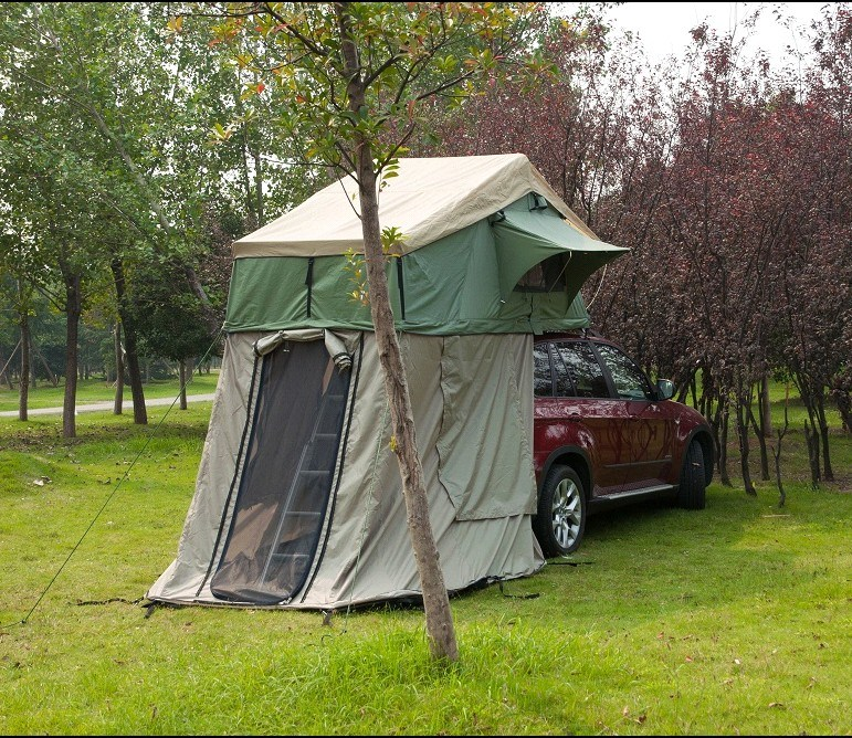 Best Car Camping Tent : China cold proof fibreglass waterproof car roof top tent