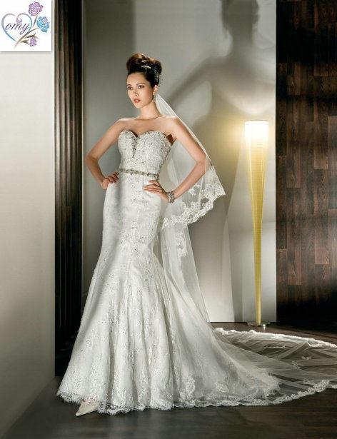 China 2012 ivory beautiful sweetheart lace beaded wedding for Beautiful ivory wedding dresses