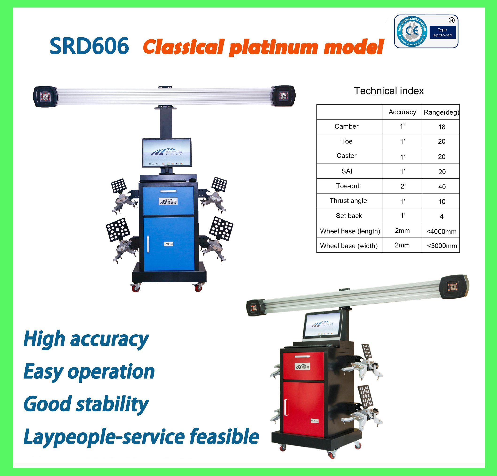 Wheel Alignment/Auto Repair Tools/Wheel Alignment System/3D Wheel Alignment