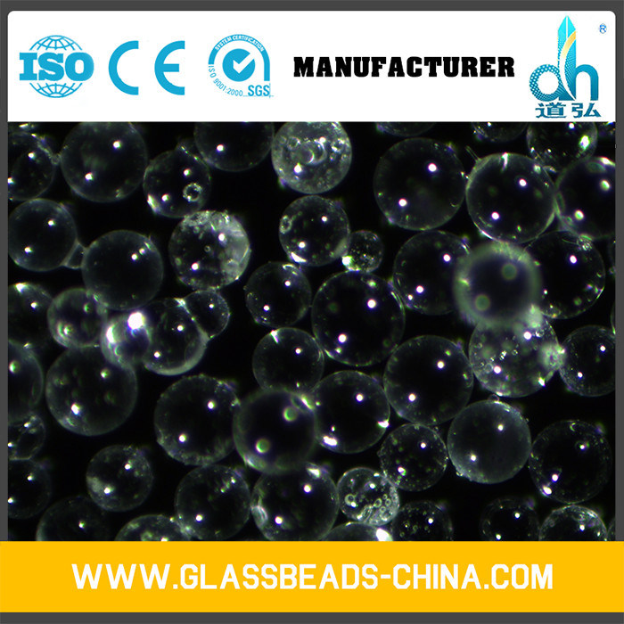 Transparent Grinding Abrasive Smooth Glass Beads for Sandblasting