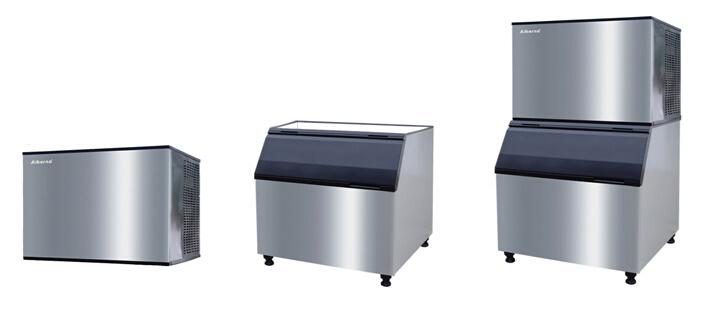 1000kgs Cube Ice Machine for Supermarket Fresh