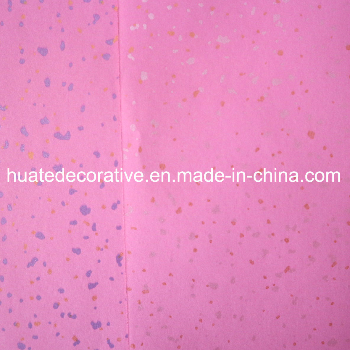 Metallic Melamine Decorative Paper for Furniture, Plywood, MDF, HPL