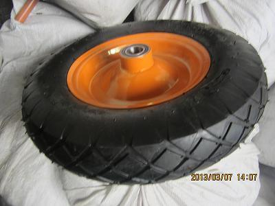 Qingdao Wheelbarrow Tire 400-8 Wheelbarrow Wheel