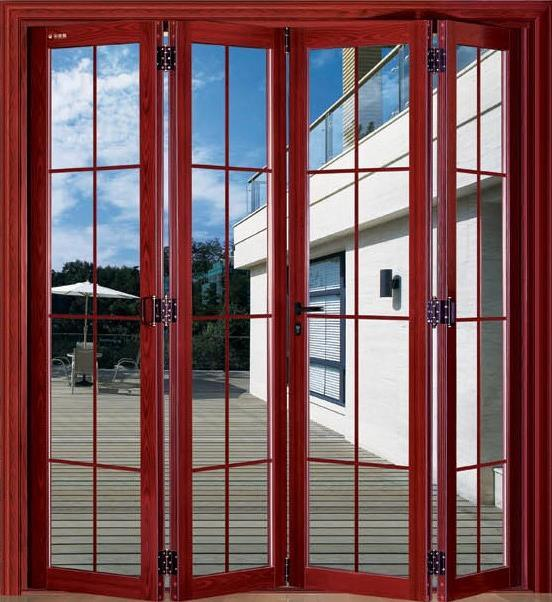 China ritz new design luxury glass aluminium french doors for Aluminium glass windows and doors