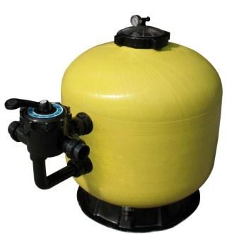 Fibergalss Sidemount Sand Filter for Swimming Pool (Ring Lock)