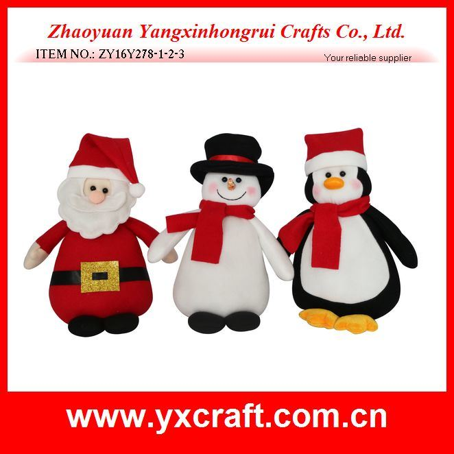 Christmas Decoration (ZY15Y060-1-2) Christmas Rag Doll