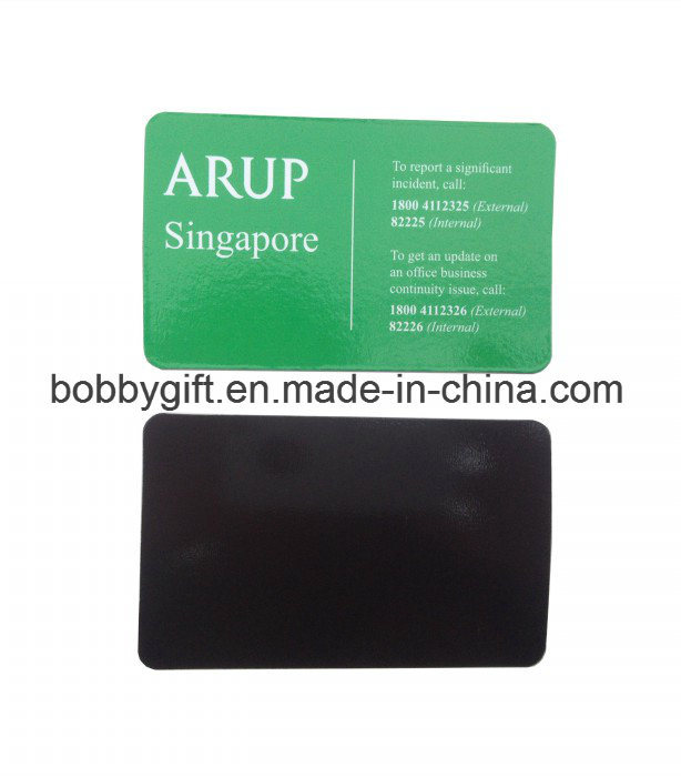 Custom Advertising Cheap Magnetic Business Card Magnet