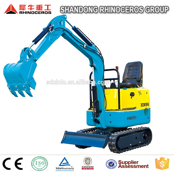 Chinese Mini Excavator for Sale Cheap 0.8 Tons Micro Excavator with Diesel Engine