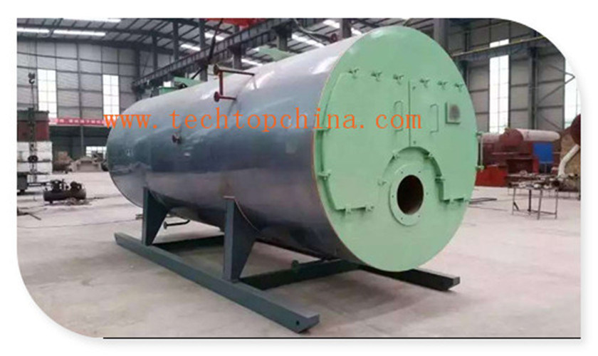 Horizontal Internal Combustion Auto Gas or Oil Fired Steam Boiler