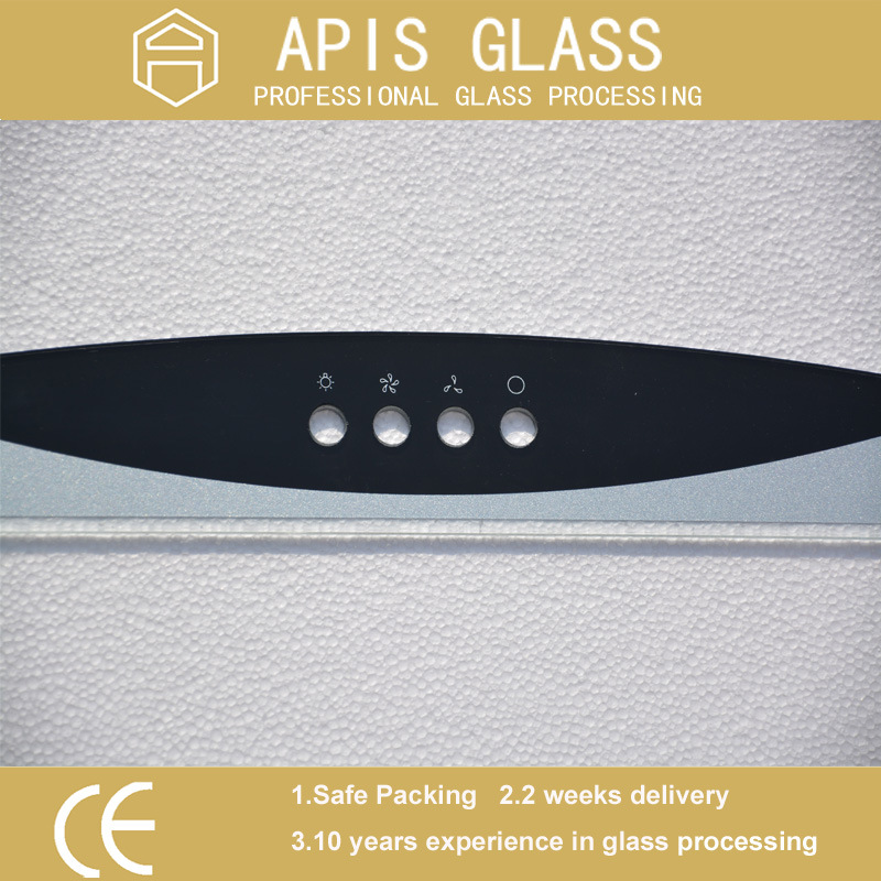 AG /Clear Silk Screen Printing Frame Tempered/Toughened Glass for Home Appliance