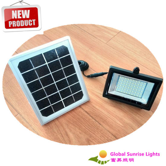 Factory Direct Sale! Solar Flood Lights, Lawn Lamp, with Sensors, Customized