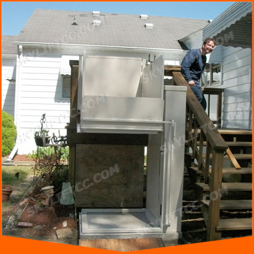 300kg 4m Small Home Elevator Lift/Wheelchair Lift with Ce