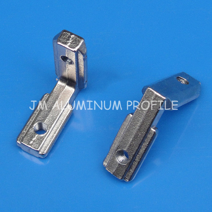 T Slot L Shape Type 90 Degree Aluminum Profile Accessories Inside Corner Connector Bracket with M4 Screw for 20 Series