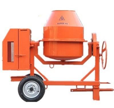 Qls 400m Manual Electric Concrete Mixer - China Manual ...