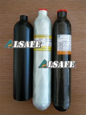 Ultra Light Weight Carbon Fiber Composite Paintball Air Cylinder