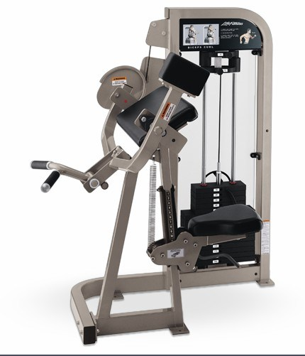 Fitness Equipment / Life Fitness / Gym Equipment / Biceps Curl (SS01)
