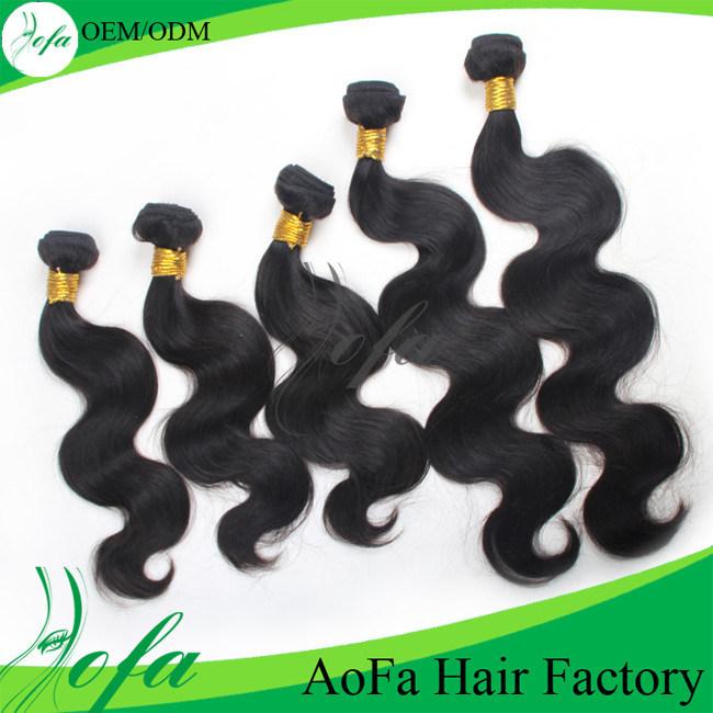 No Shedding Very Soft 100% Brazilian Virgin Human Hair Extension