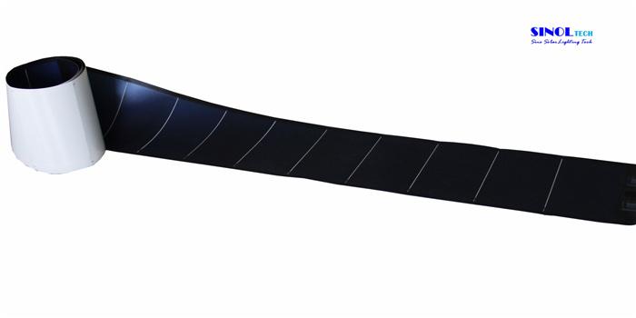 144W Photovoltaic Thin Film Flexible Amorphous Solar PV Module (PVL-144)