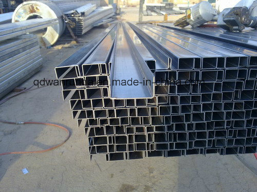 HDG U Channel Steel Use for Solar Stand