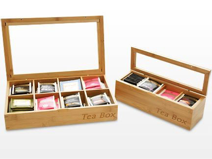 Bamboo Tea Box (Organizer Storage) Hb305
