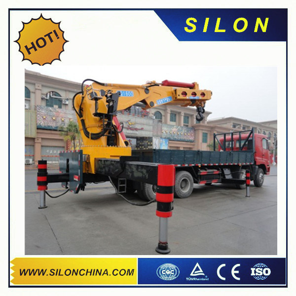 6.3ton Popular Telescopic Boom Crane/Truck Mounted Crane Sq6.3zk2q