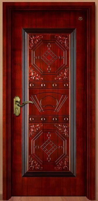 Puerta de madera interior ht sa 116 puerta de madera for Diseno puertas de madera interiores