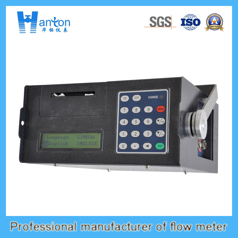Portable Ultrasonic Flowmeter with Print Fuction (HT-002UF)