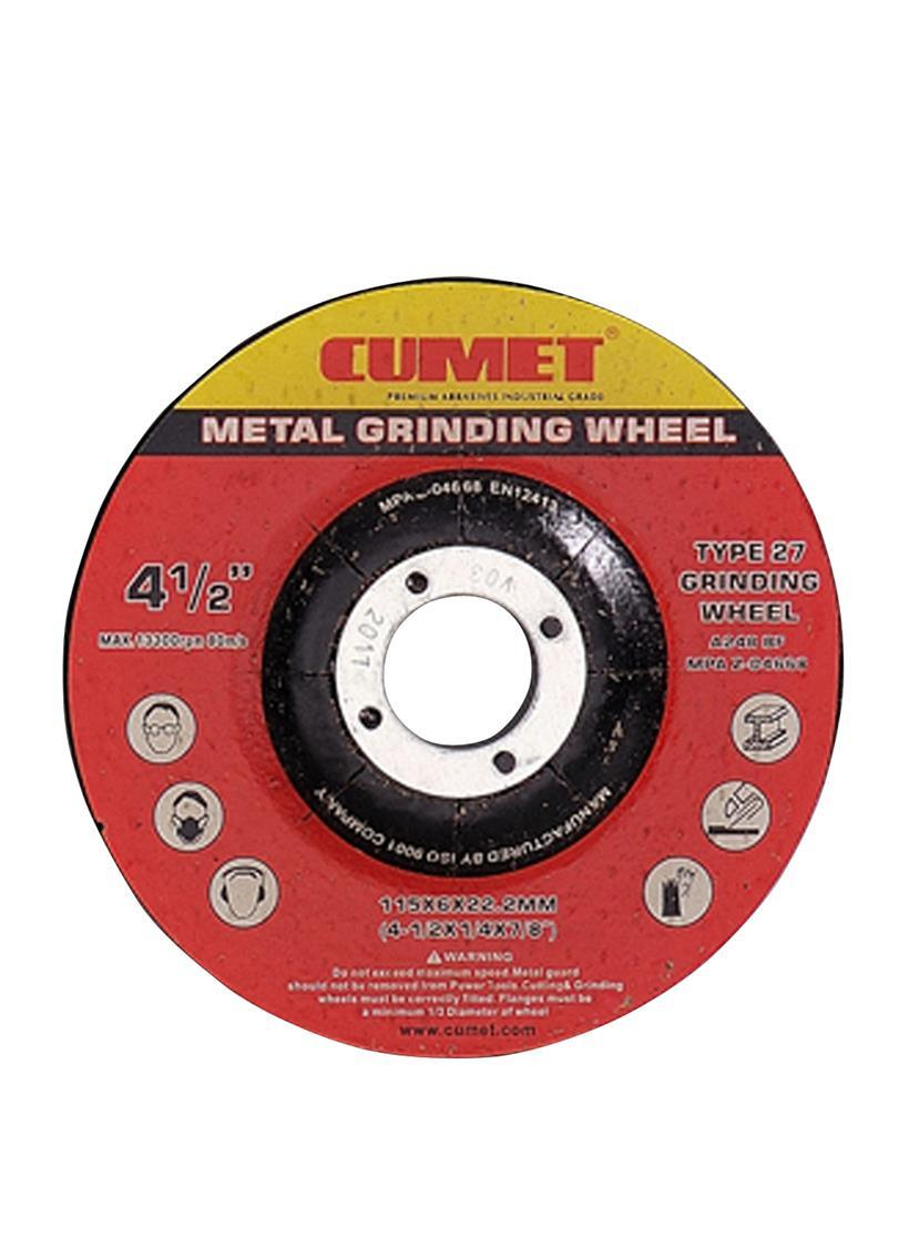 T27 Grinding Wheel for Metal (115X6X22.2mm) Abrasive with MPa Certificates