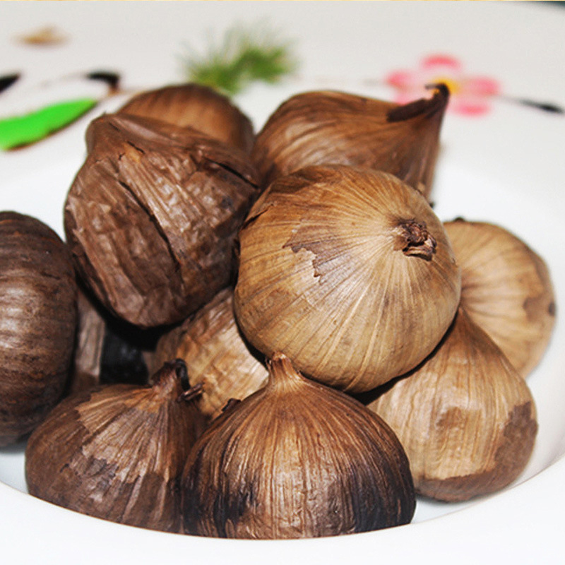 Good Taste Fermented Black Garlic 6 Cm Bulbs (250g/can)