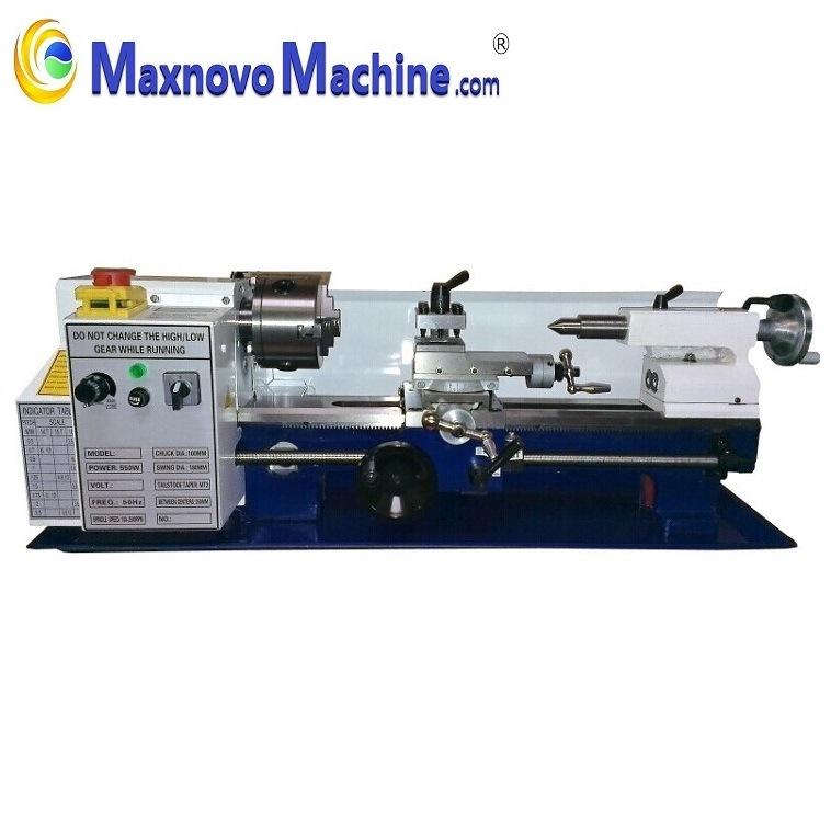 Digital Speed Metal Turning Mini Bench Lathe (mm-TU1803V, Maxnovo Machine)