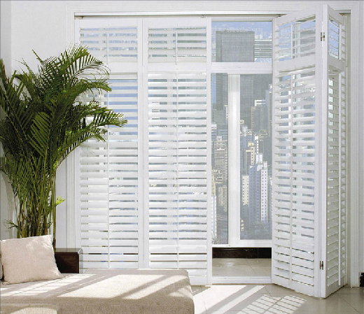 Exterior: China Aluminum Bifold Shutter / Louver Door (PR-D31