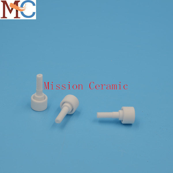 Heat Resistant Al2O3 Alumina Ceramic Bolt and Nut