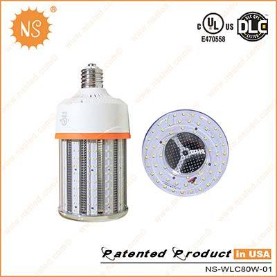 UL Dlc IP64 E39 Mogul Base 80W LED Retrofit Lamp