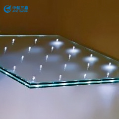 LED Lighting Glass, Decorative Glass, Low-Energy Consumption, Color Diversity