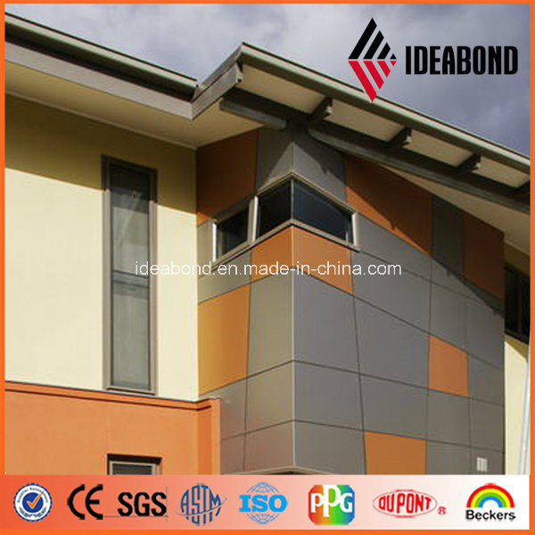 China ideabond modern building design aluminum exterior for Exterior wall construction materials