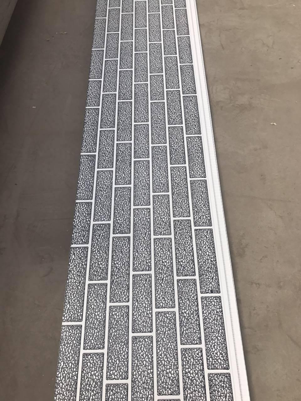 Carved Metal Steel Facing Facade Sandwich Panel
