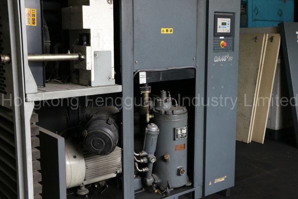 Atlas Copco Oil Injected Screw Air Compressor (GA37VSD, GA45, GA45FF, GA55, GA55FF)