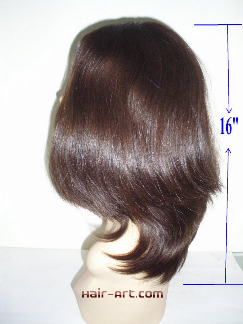 "Top Fashion 100% Virgin European Hair Sheitels Kosher Wigs-16"""
