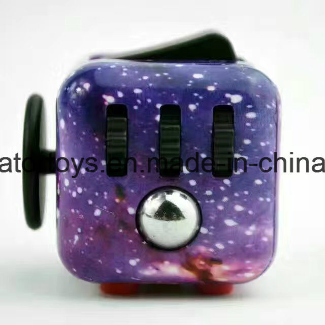 Color Printing Fidget Cubes Relieves Stress and Anxiety for Children and Adults