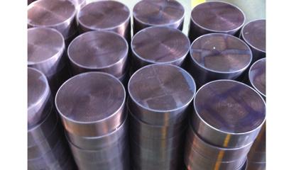 Metallic Diesel Engine Exhaust Catalyst Converter