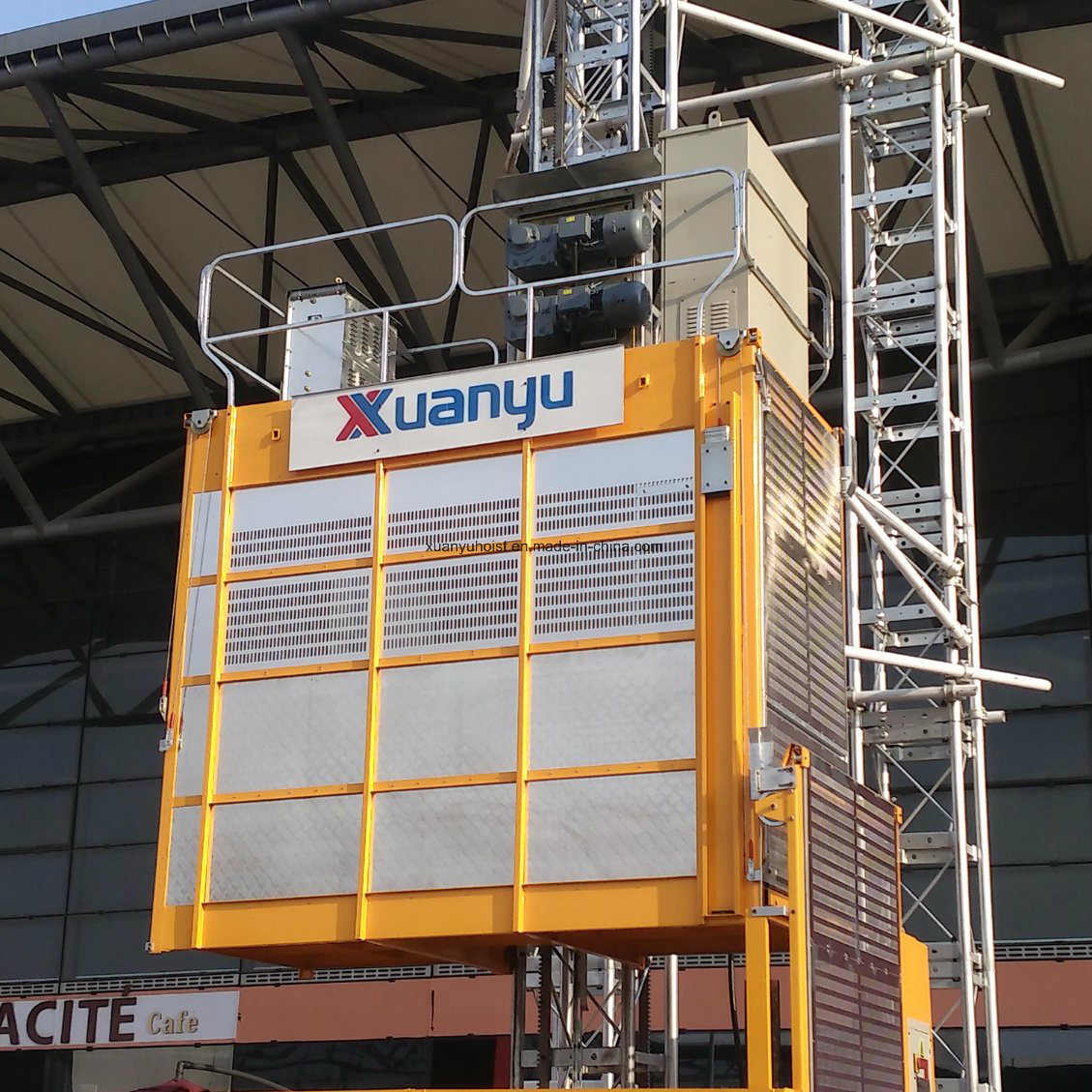 Xmt Single /Twin Cage Engineering Construction Material and Passenger Machinery