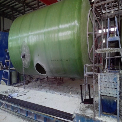 FRP GRP Tank Chemical Fuel Tank Transportation FRP Tank